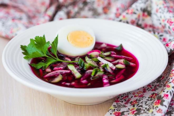 Холодные супы для похудения