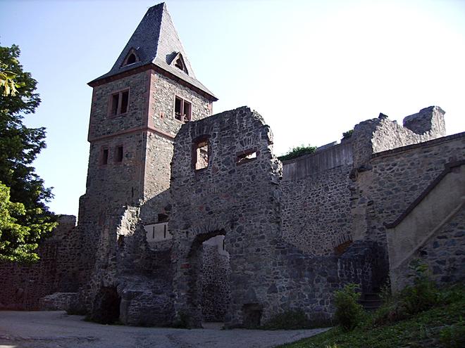Самые страшные замки в мире: Замок Франкенштейн, Германия