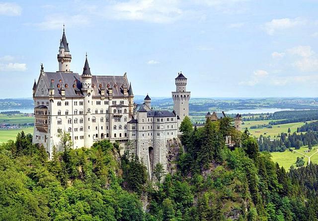 Самые красивые замки Европы. Замок Нойшванштайн, Германия