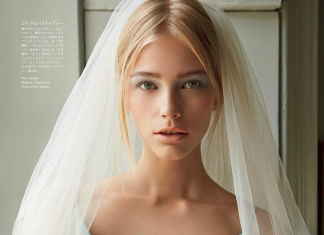 Свадебные образы в Vogue Japan