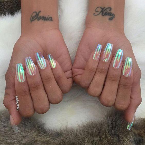 Кришталеві нігті