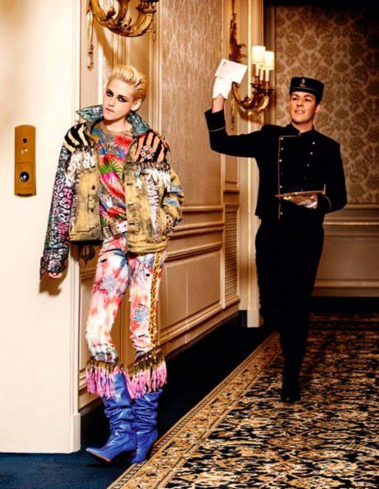 Кристен Стюарт в яркой фотосессии для Vogue Paris