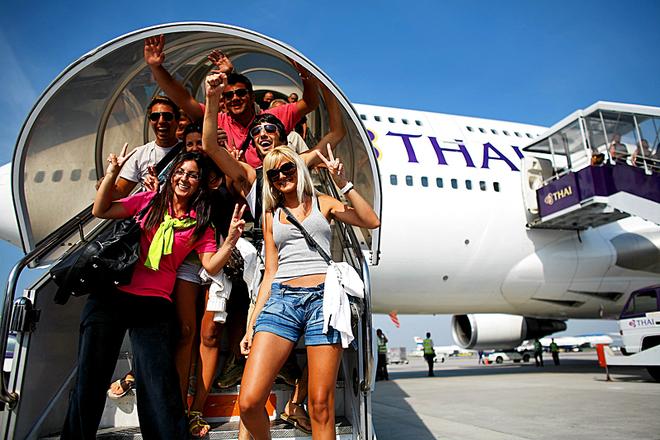 Самые продолжительные перелеты: Thai Airways
