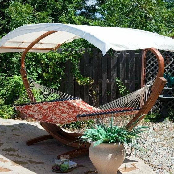 Гамак для отдыха на даче