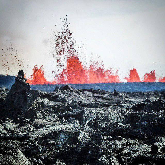 Исландия в Instagram