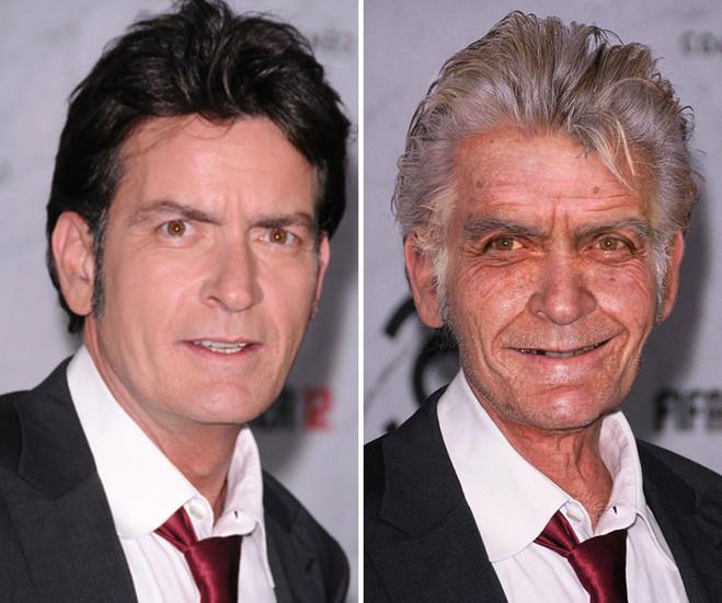 Фотошоп никого не щадит. Как могут выглядеть знаменитости в старости