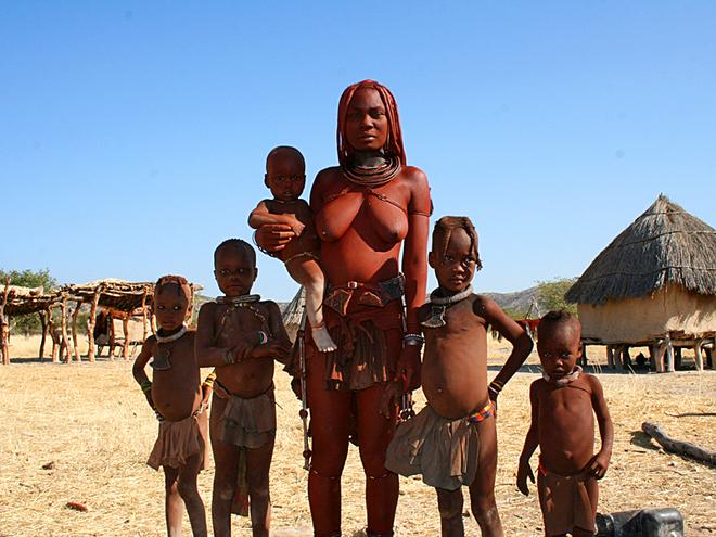 Племена, где может пожить турист: Племя Химба