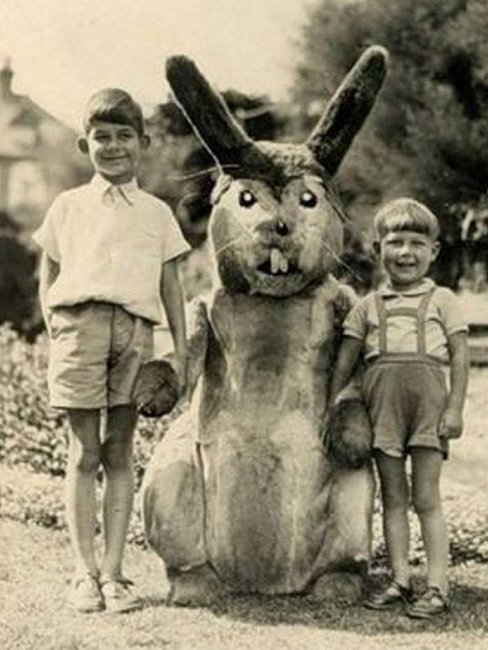 Жуткое зрелище. ТОП 18 пасхальных кроликов