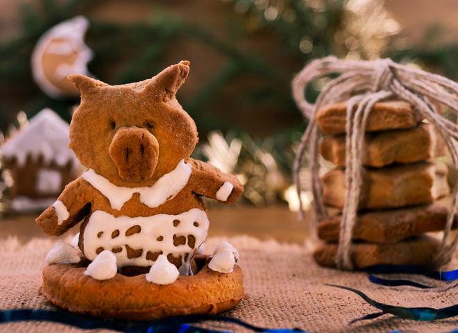 Имбирное печенье: рецепт на Новый год 2019 (фото)