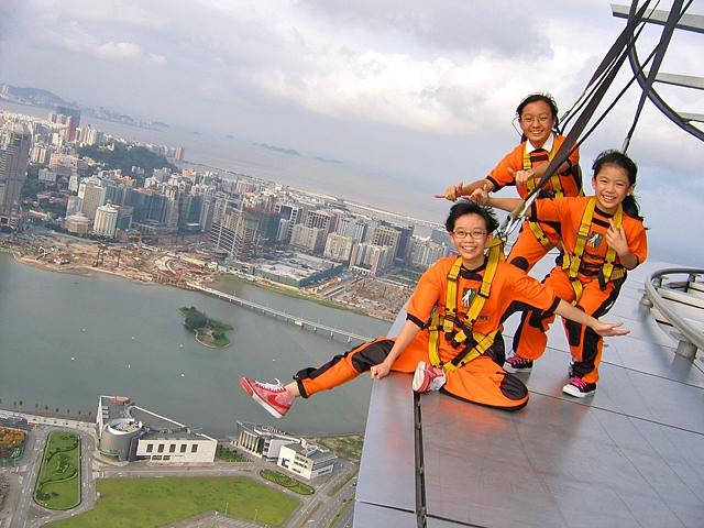 7 найбільш високих банджі-стрибків: Вежа Макао (Китай)