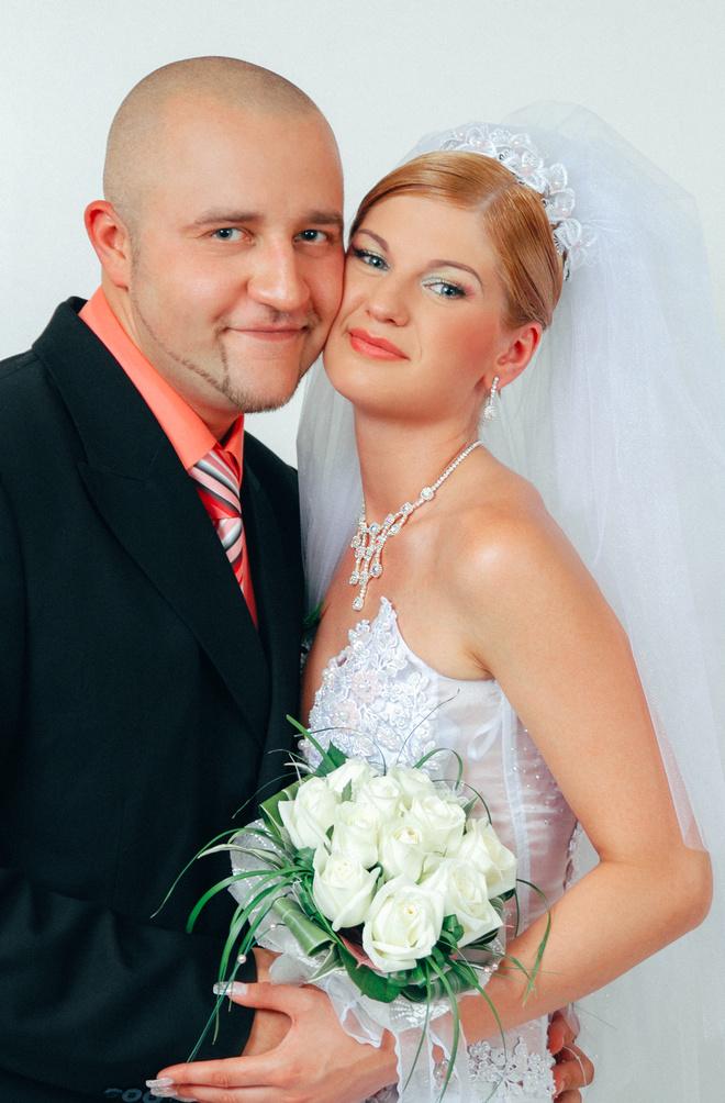 Егор Крутоголов с женой Катей