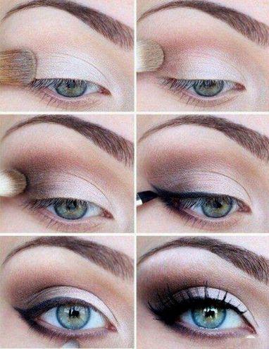 Как правильно наложить макияж на глаза пошагово в