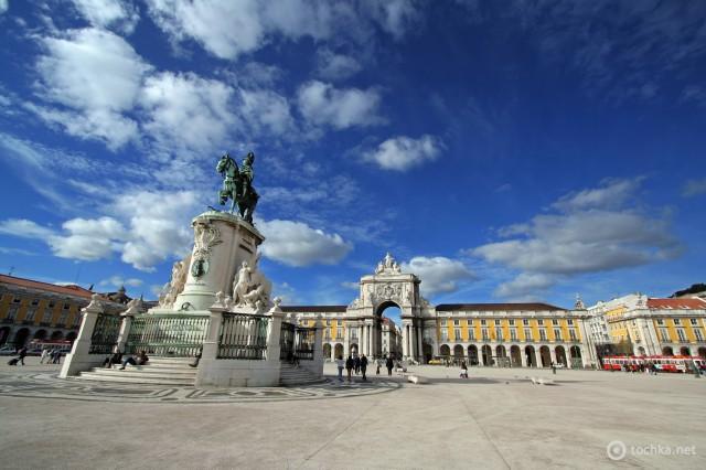 Достопримечательности Лиссабона: площадь Комерции