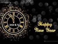 Сказочная открытка на Новый 2015 год