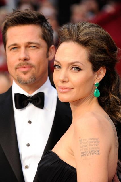 Дети Анджелины Джоли и Бреда Питта хотят сделать тату ... брэд питт фильмы