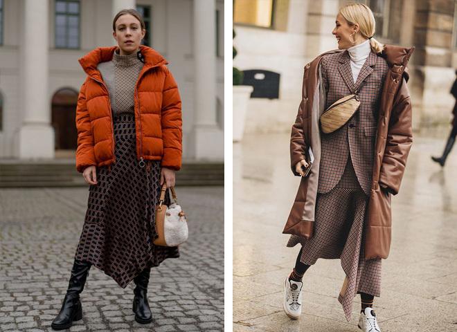 Модные пуховики на зиму 2021