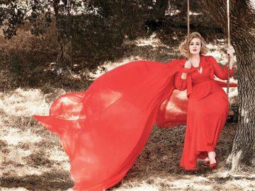 Роскошная Адель украсила обложку Vanity Fair