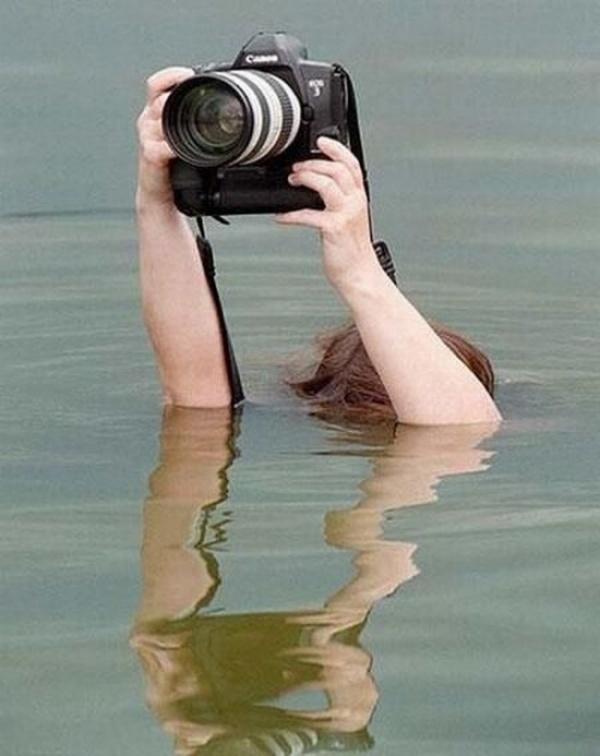 Тяжелая жизнь фотографа. Прикольная подборка