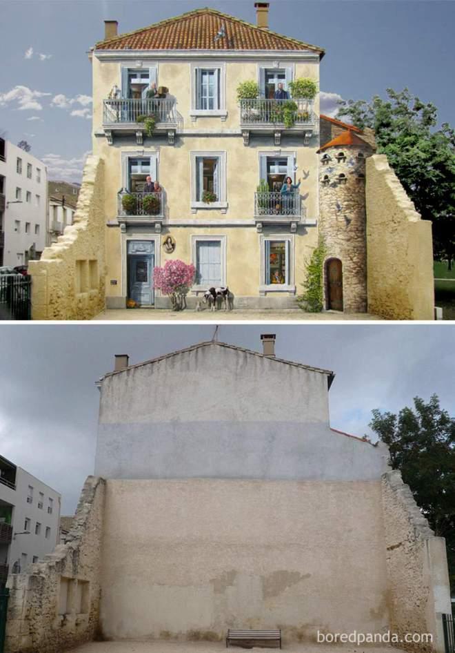 14 раз, когда уличный арт преображает местность