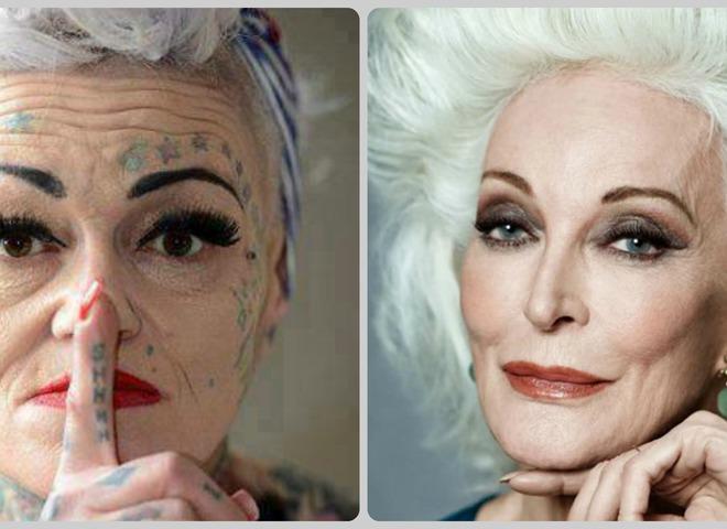 Секреты макияжа для женщин средних лет