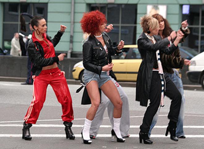 Съемки клипа группы А.Р.М.И.Я