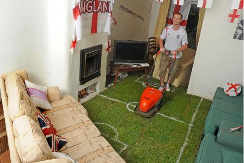 Лучшая комната для болельщиков футбола