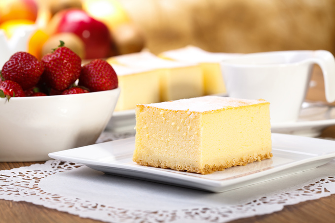 Творожный десерт без сахара