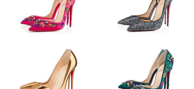 В чем встречать Новый год 2014: обувь от Christian Louboutin (видео)