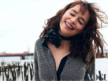 Эмилия Кларк для Vogue JAPAN