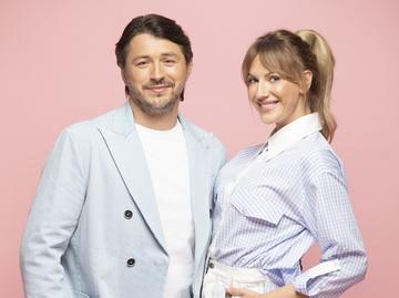 Леся Нікітюк і Сергій Притула