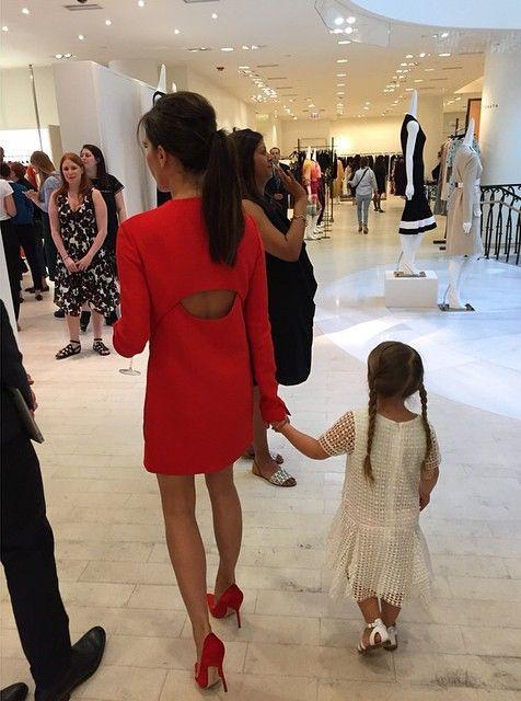 Вечер в честь открытия корнера Victoria Beckham в Barneys New York
