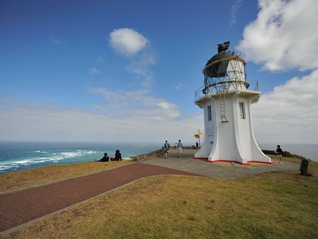 Отели на маяках: лучик света в море - the lighthouse,  New zealand