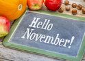 Вихідні в листопаді