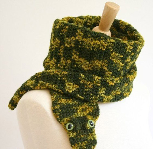 Чудо-шарфики на осень