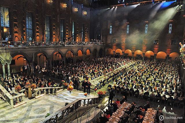 Где встретить принца: принц Карл Филипп Шведский, Стокгольмская ратуша, званый ужин церемонии вручения Нобелевской премиии