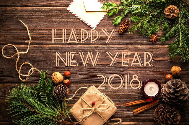 С Новым годом 2018