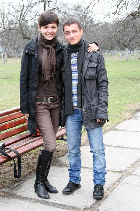 Еріка та Стас Шурінс