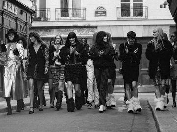 Chanel показ коллекции осень-зима 2021/22