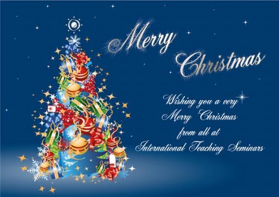 Красивая открытка к Рождеству