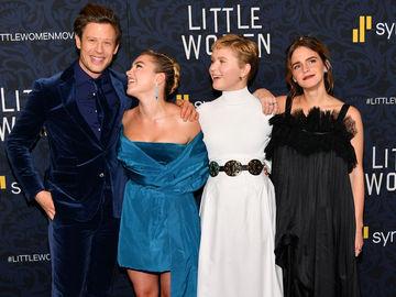 """Емма Уотсон, Сірша Ронан і Лора Дерн на прем'єрі """"Маленькі жінки"""""""
