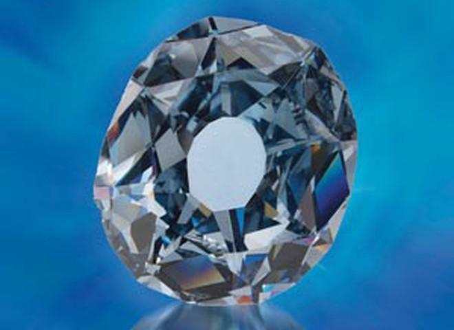 В Африке найден редчайший голубой алмаз