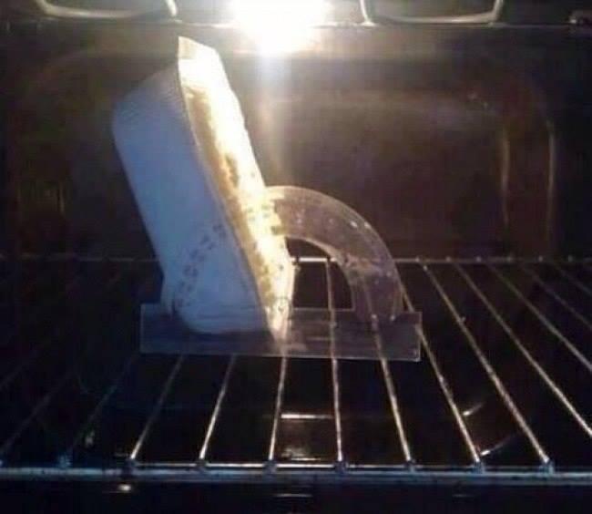 Жена сказала поставить еду в духовку на 120 градусов. Пришлось помучиться, но я справился
