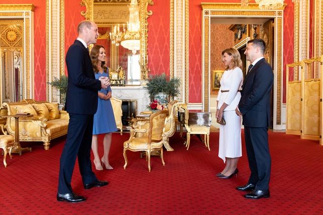 Володимир і Олена Зеленські у Букінгемському палаці