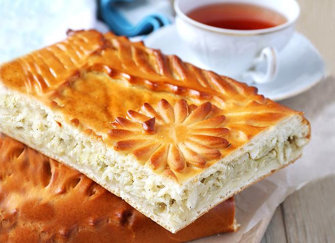 Пирог с капустой на Покрова
