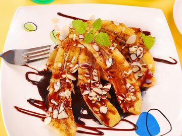 Десерти на 8 Березня, банан