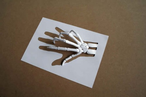 креативные бумажки