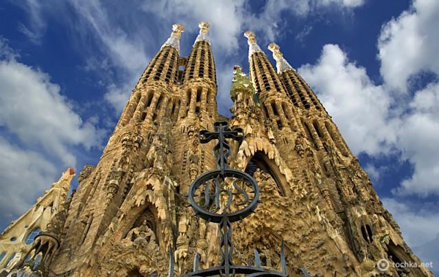 Достопримечательности Испании: Sagrada Familia, Барселона