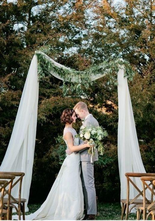 Виїзна церемонія: 15 весільних арок, побачивши які ти захочеш заміж