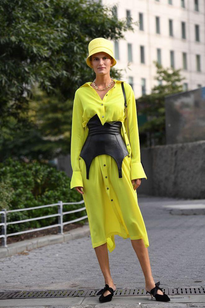 Пояс-корсет — модный акцент на талии