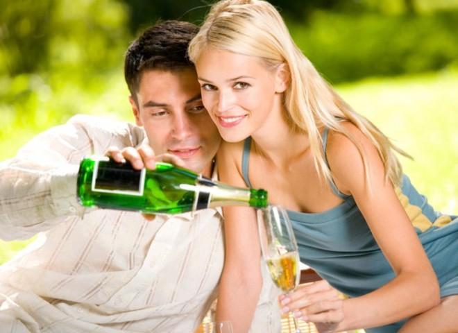 Побалуй себя шампанским, созданным под музыку любви!